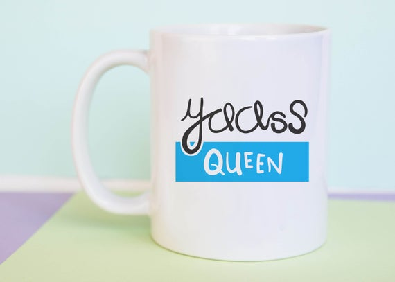 Yaass Queen Mug (With Gift Box)