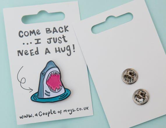 Shark - Enamel Pin Badge