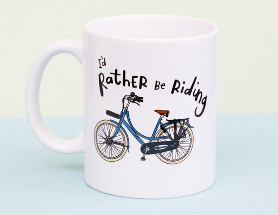 Rather be Riding mug