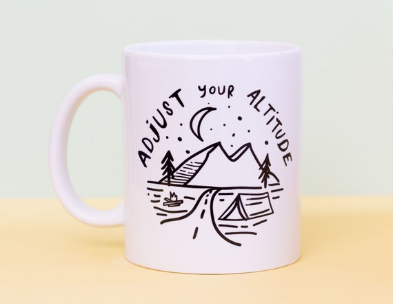 Adjust your Altitude mug