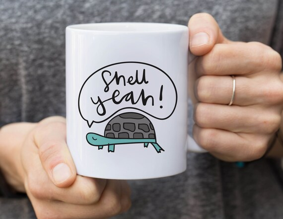 Shell Yeah Coffee Mug