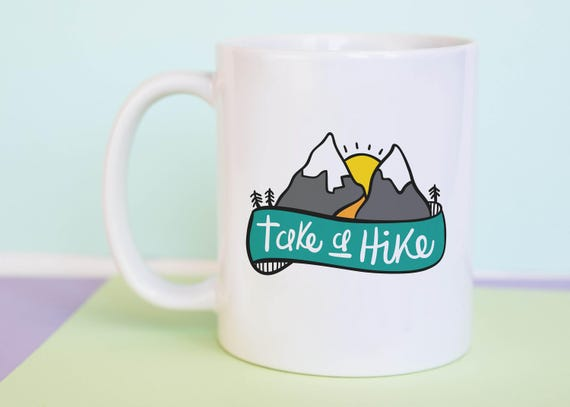 Take A Hike Coffee Mug with gift box