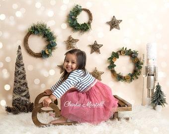 wooden sled children sledphotography propwooden winter sleighchristmas propsphotography prop sleigh newborn sleigh toddler sleigh