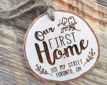 Our First Home, Our First Place, Our First Apartment, Our First Christmas, Christmas Gifts, Rustic Xmas Tree, Woodland Xmas Tree, Tree