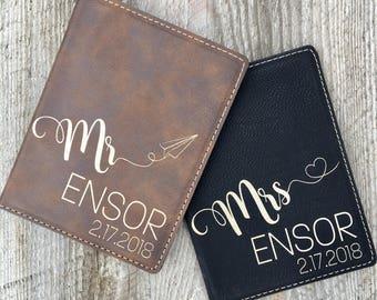 Passport Holder Passport Cover Passport Wallet Personalized Passport Covers Travel Wallet Leather Passport Holder Anniversary Gift