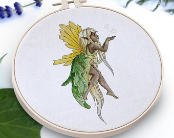 Dandelion - Flower Fairies (Cross stitch pattern, PDF)