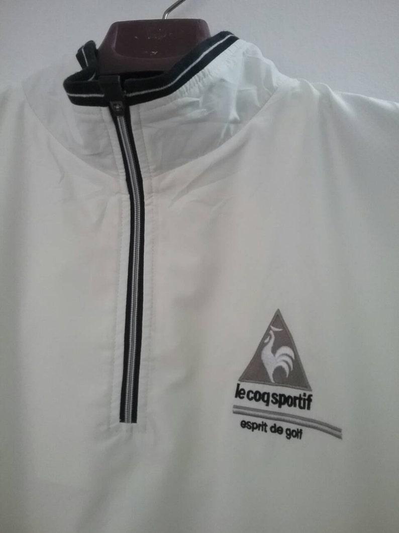90c437b805b1 Le Coq Sportif Half Zip Shirt lecoq Windbreaker Half Zipper