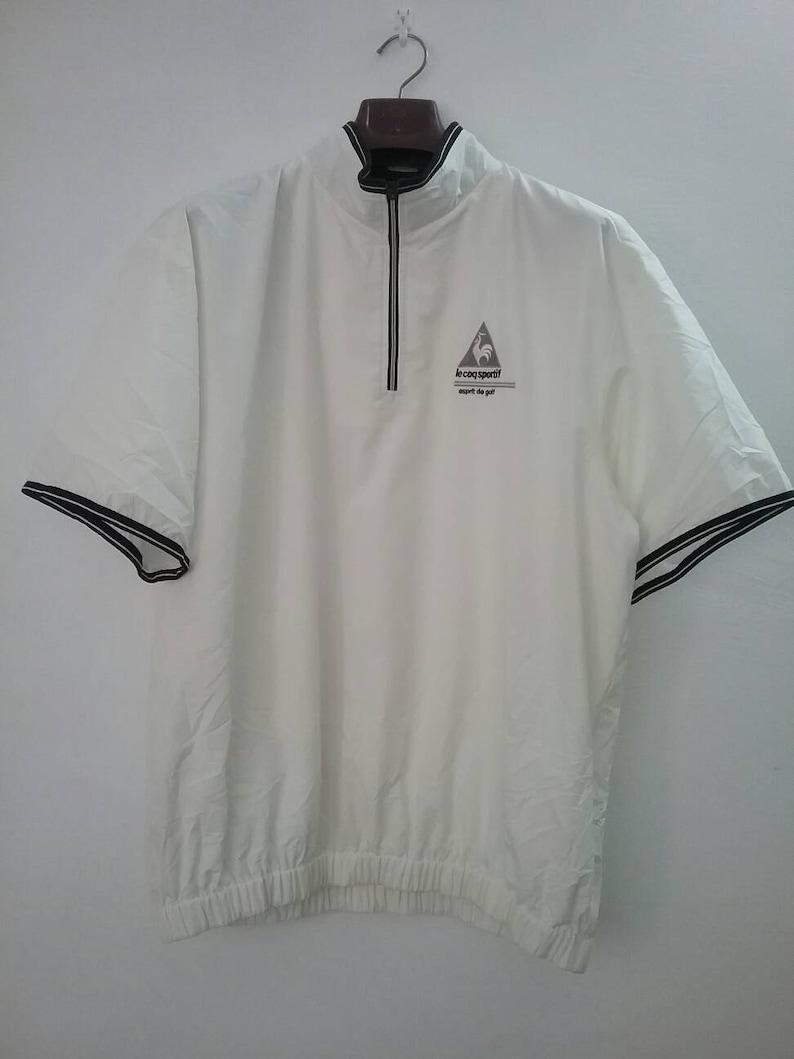 bddc337171 Le Coq Sportif Half Zip Shirt lecoq Windbreaker Half Zipper | Etsy