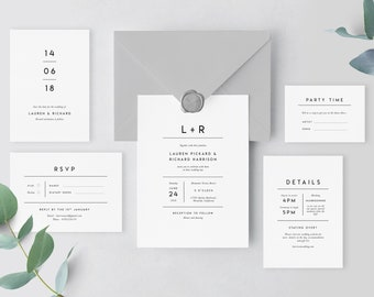 diy wedding invites etsy
