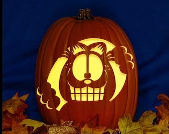 Garfield Halloween Etsy