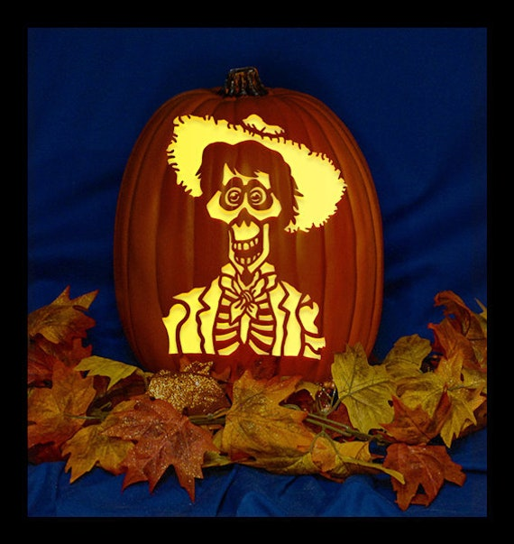 Items Similar To Hector Coco 01 Hand Carved On A Foam Pumpkin