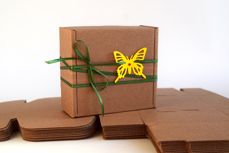 5 Pcs Cardboard Gift Boxes 4 72 X4 72 X1 97 Medium Boxes Favor Gift Packaging Wedding Favor Box Wholesale Boxes