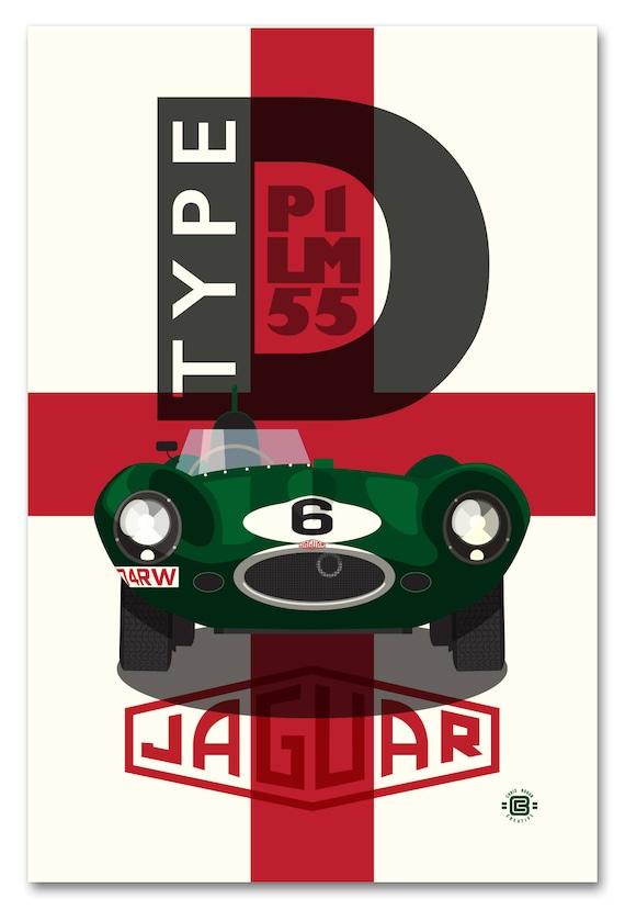 D-Type Le Mans 55 P1