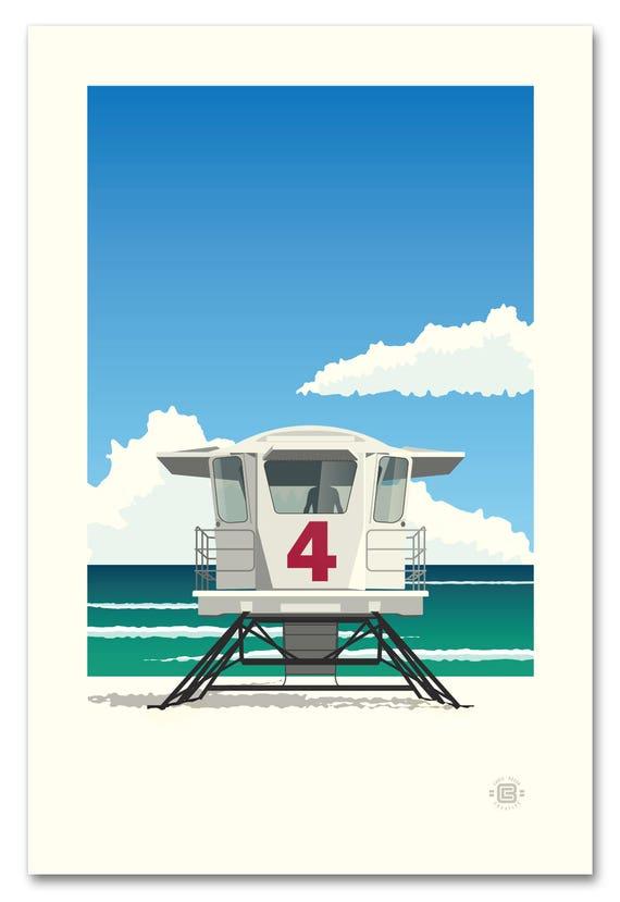 Lifeguard Hut #4