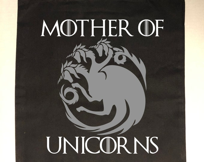 Mother of Unicorns Game of Thrones Tote Bag
