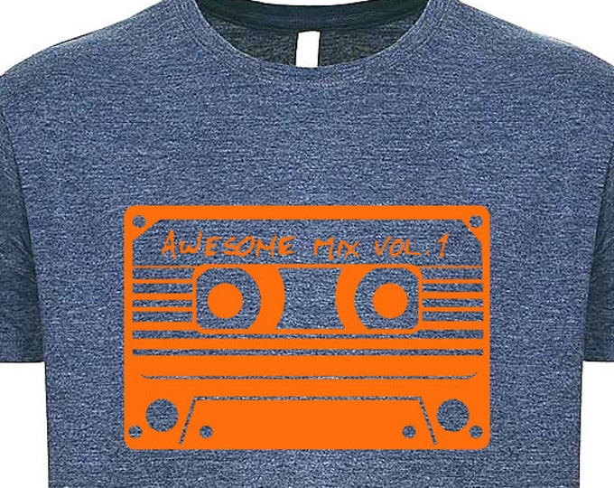 Awesome Mix Vol. 1 Guardians of the Galaxy T-shirt