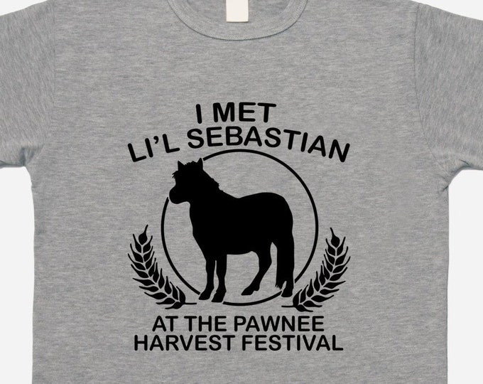 Parks and Recreation I Met Li'l Sebastian at the Pawnee Harvest Festival T-shirt