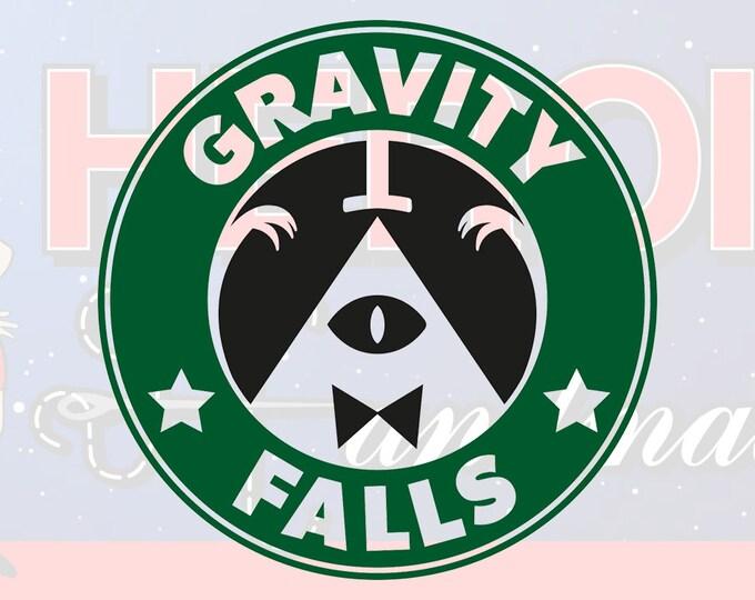 """4""""+ Gravity Falls Adhesive Vinyl Decal"""
