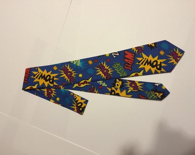 Comic Action Children's Necktie