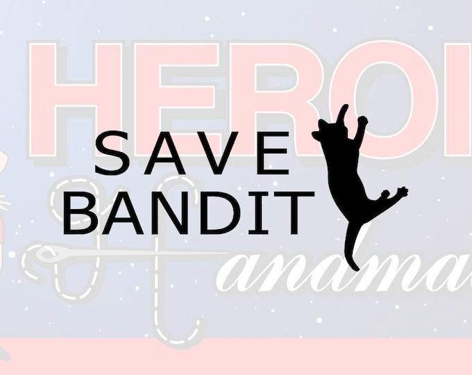 "4""+ Angela The Office ""Save Bandit"" Adhesive Vinyl Decal"