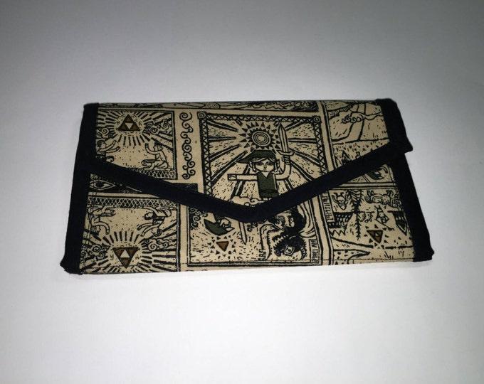 Legend of Zelda fabric wallet
