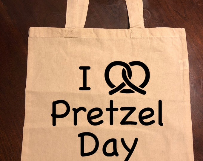 The Office Stanley Hudson Pretzel Day Tote Bag