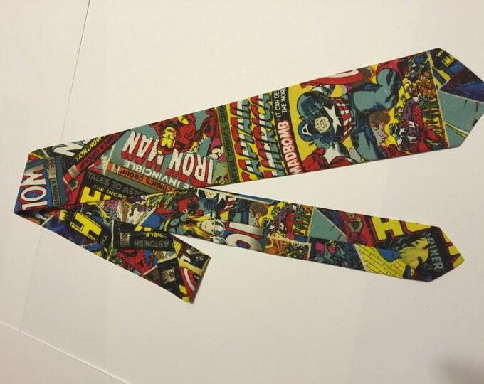 Avengers Children's Necktie