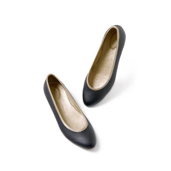 shoes classic Black flat shoes classic classic Black Black flat shoes flat Hqtq4p