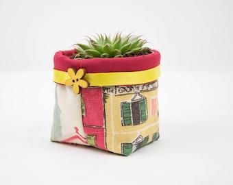 Fabric Plant Pot Venice