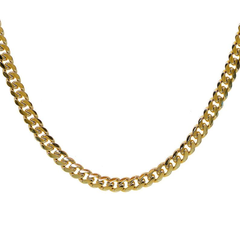 5f1e0805d8cbb 14K Yellow Gold 26 Inch Cuban Link Chain 59 Grams