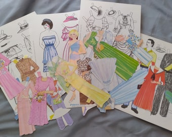 LAST CHANCE SALE! Princess Diana Paper Dolls  - For Scrapbooking, Crafts - Lady Di, Prince Charles