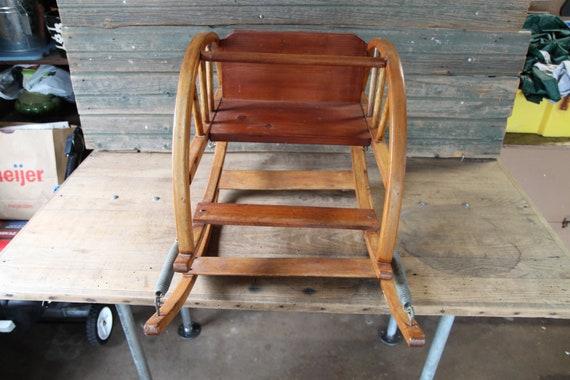 Brilliant Vintage Baby Rocker Bouncy Chair The Teetertot Beatyapartments Chair Design Images Beatyapartmentscom