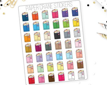 Happy Mail - Planner Stickers - Packaging - Shop Owner - 42 Stickers