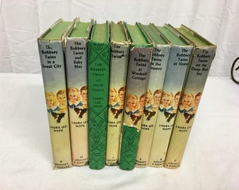 The Bobbsey Twins Books//Sold Individually//Written By Laura Lee Hope//Vintage Books