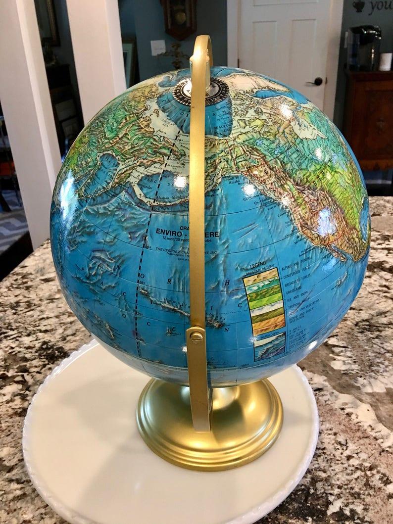 Stopfen Enviro Kugel Tischplatte Globus