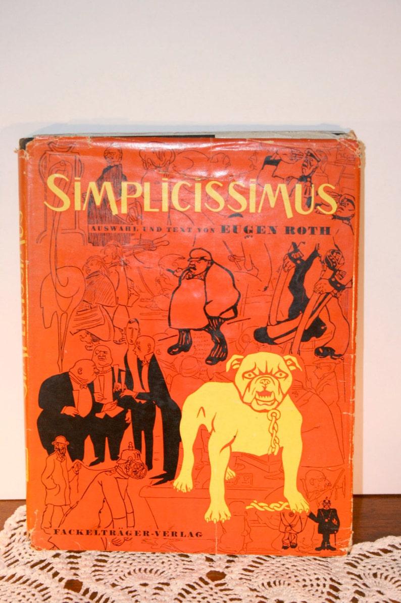 1954 Simplicissimus By Ein Ruckblick Auf Die Satirische Etsy