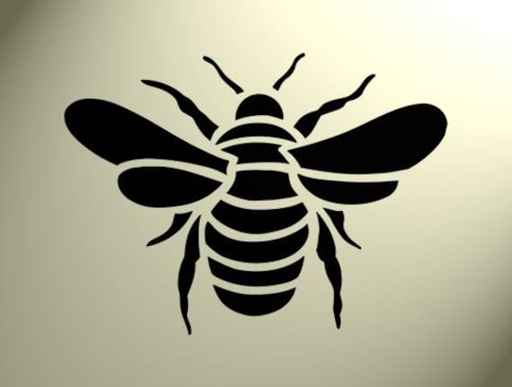 Pochoir en Mylar Bumble Bee 2/tailles rustique vintage Shabby chic A4/297/x 210/mm Meubles mur Art