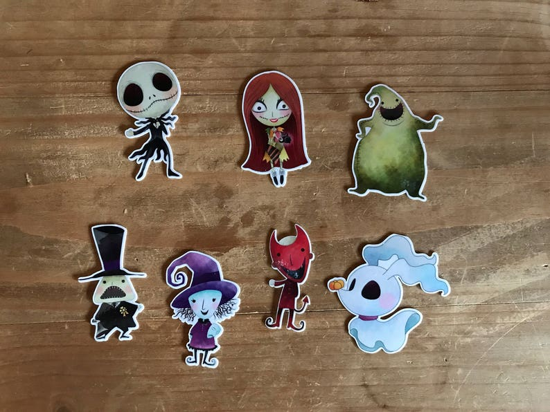 Nightmare Before Christmas Die Cuts Jack Skeleton Die Cut Etsy