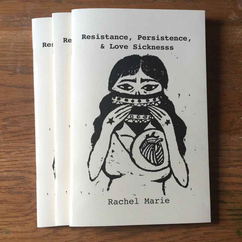Resistance Persistence & Love Sickness  Poetry Chapbook image 0