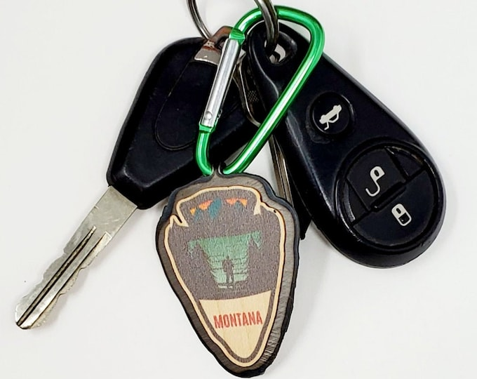 Montana Arrow KEYCHAIN
