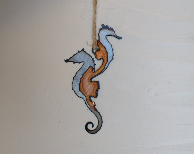 Seahorses: Steel and Copper