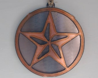 Copper Large Star Ornament