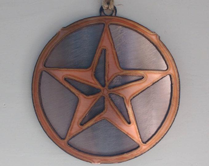 Copper Large Star Ornament