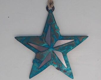 Patina Small Star Ornament