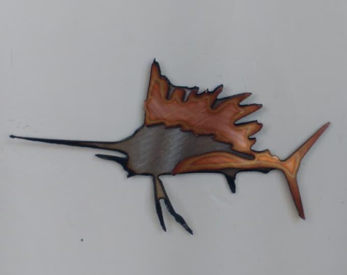 Sailfish Mini Sculpture