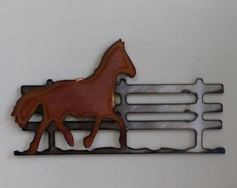 Horse In the Pasture Mini Sculpture