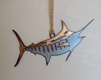 Blue Marlin Ornament