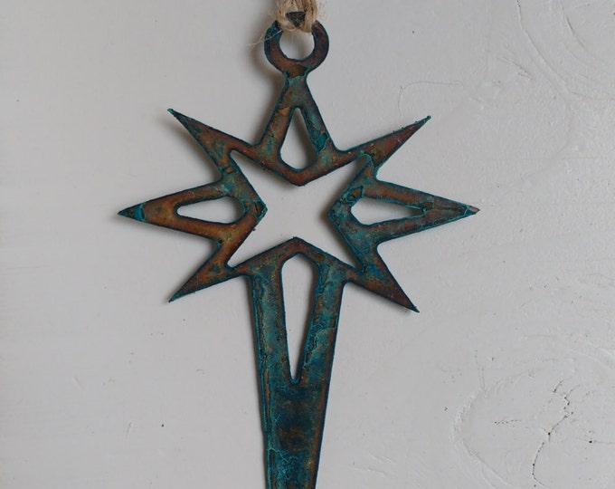 Patina Star of David Ornament