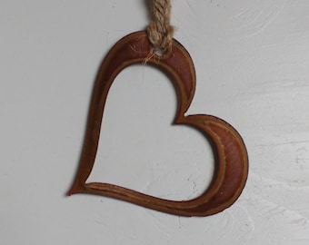 Copper Heart Ornament