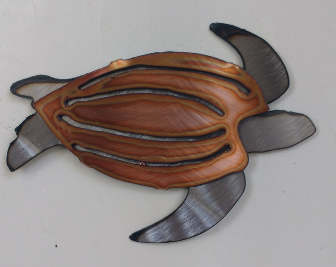 "Copper Leatherback ""Mini Sculpture"""